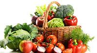 Фрукты, овощи, корзина