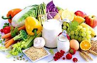 Молоко, фрукты, овощи