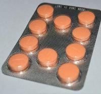 Пластина таблеток