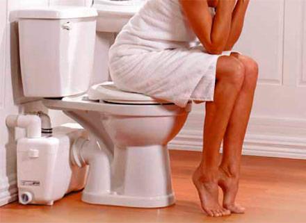 Позывы к походу в туалет