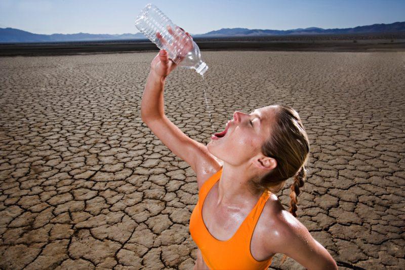 Недостаточное употребление воды